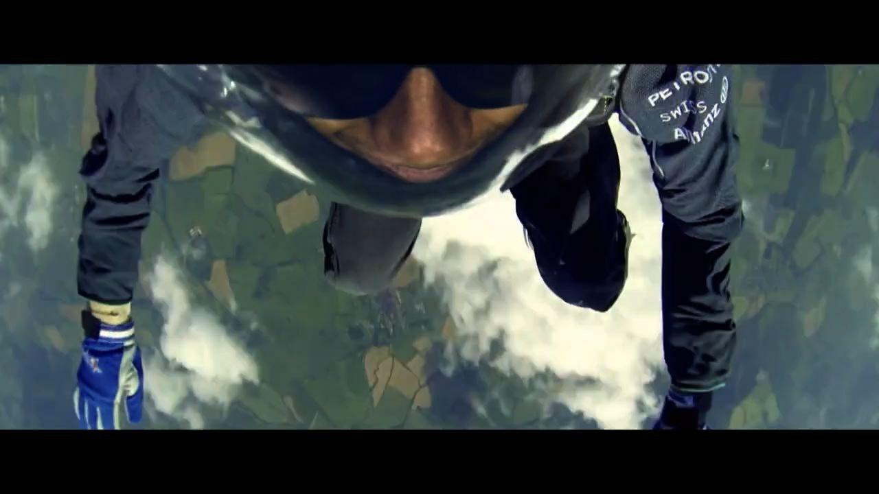 BBC F1 Silverstone 2014 - Lewis Hamilton Skydive -