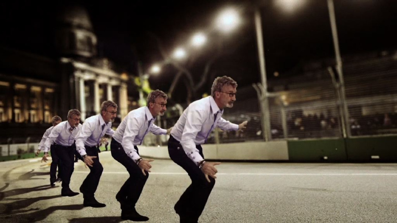 BBC F1 not aired -