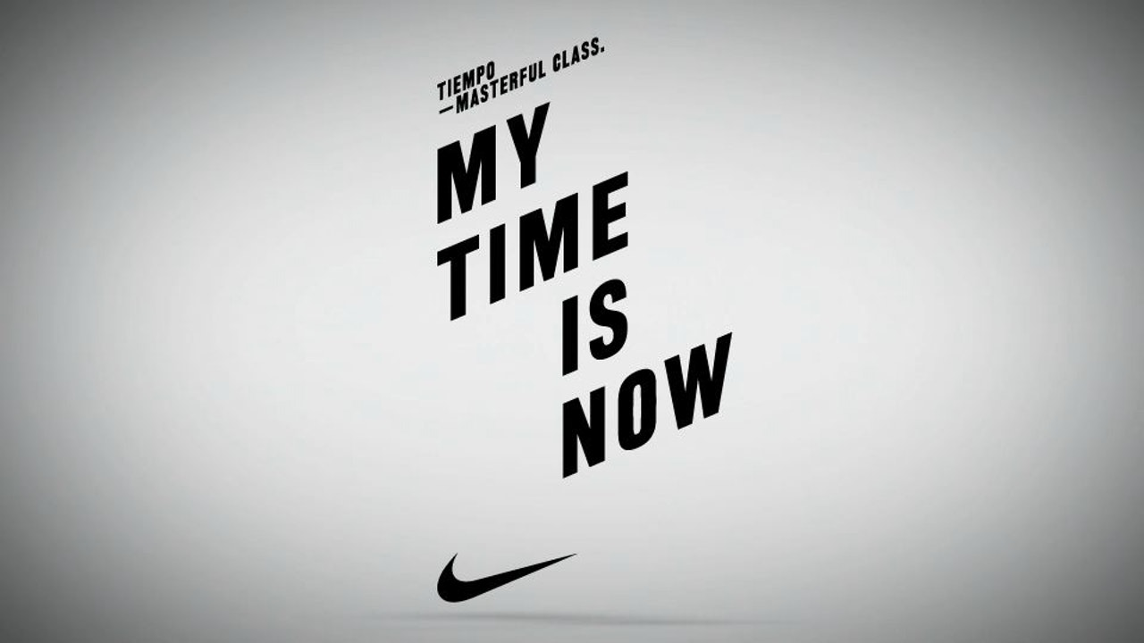 NIKE. MY TIME IS NOW. -