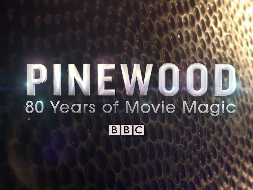 BBC 'Pinewood: 80 Years of Movie Magic'  Graphics package