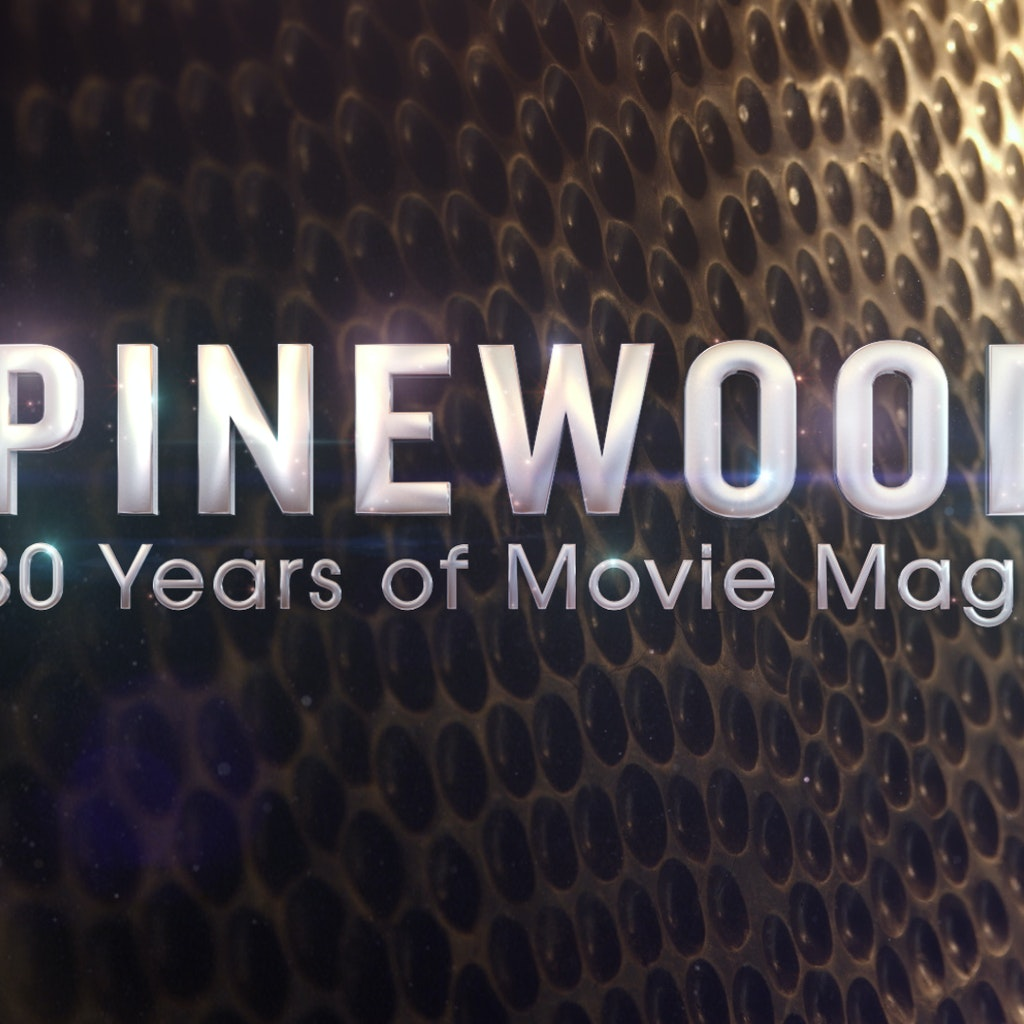 BBC 'Pinewood: 80 Years of Movie Magic'  Graphics package