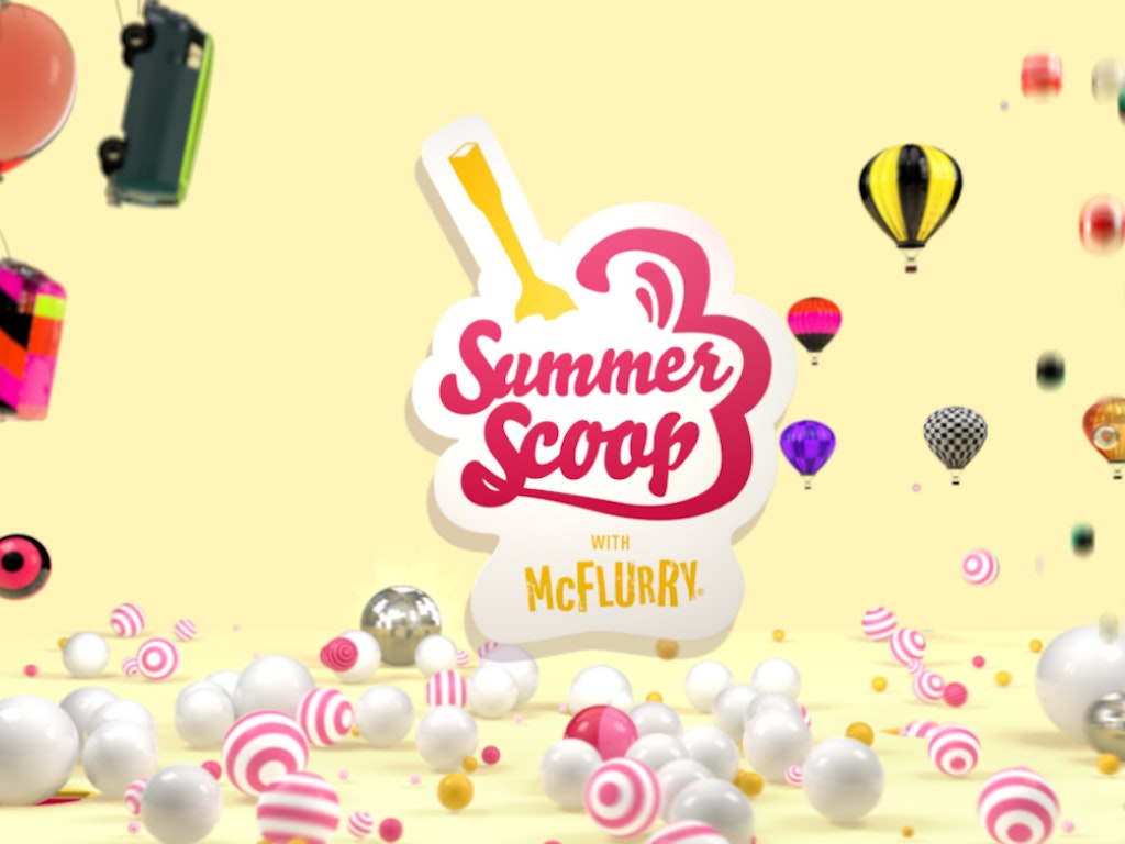 Summer Scoop with Mc Flurry