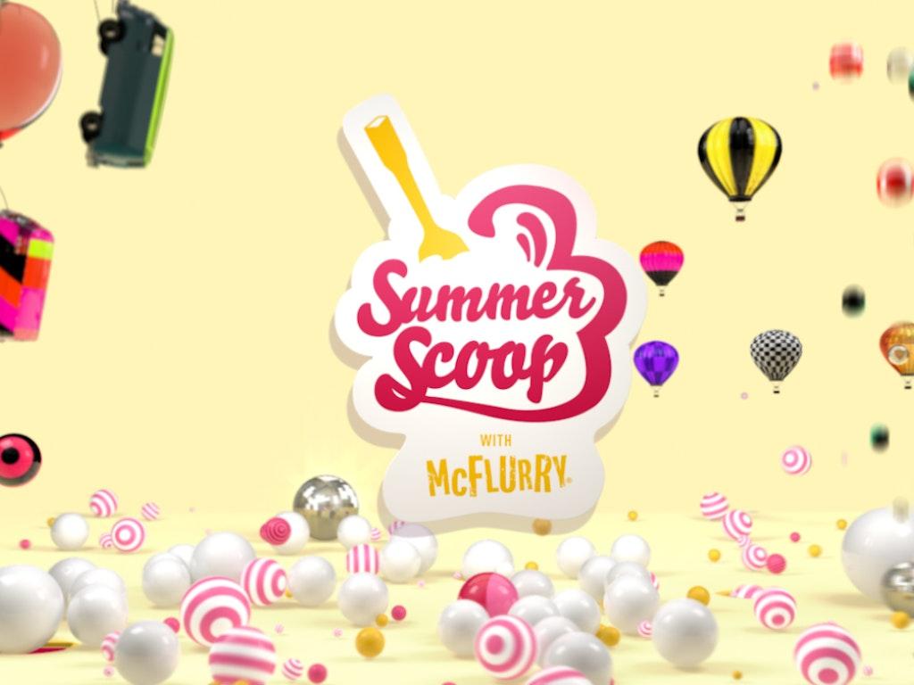 Summer Scoop with Mc Flurry