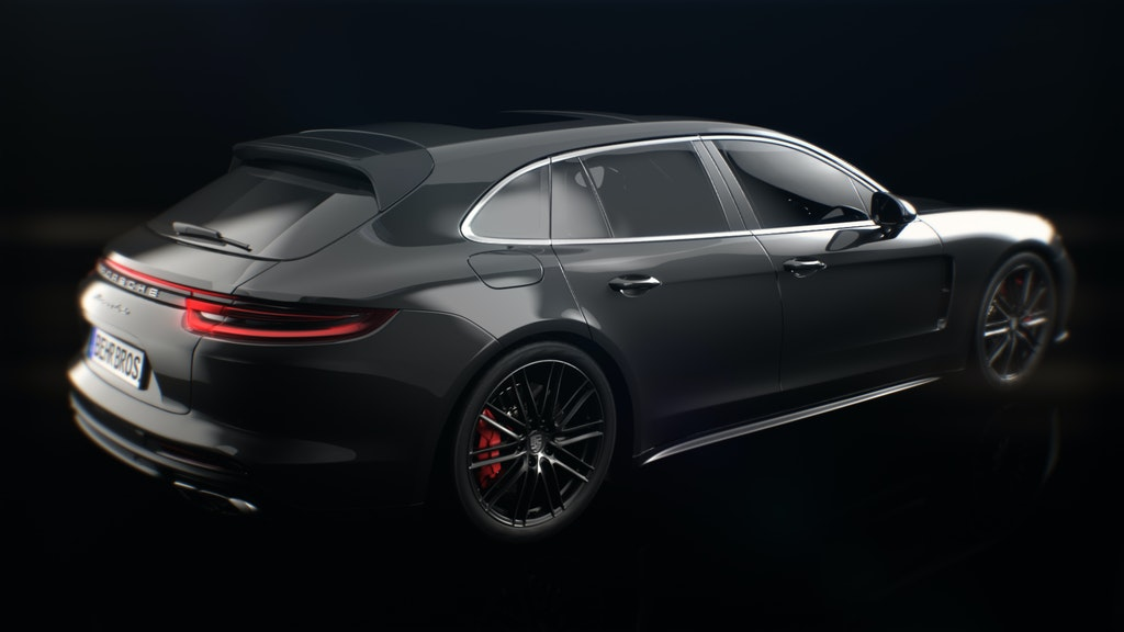 Porsche Panamera launch work