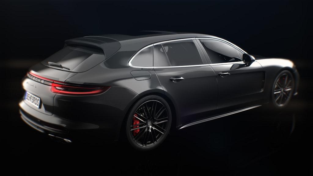 Porsche Panamera launch work