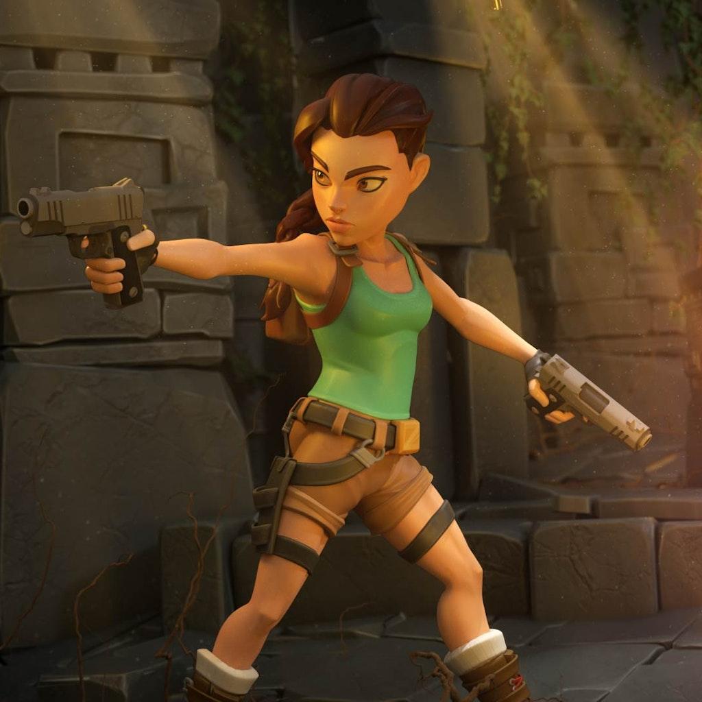 Tomb Raider: Reloaded.