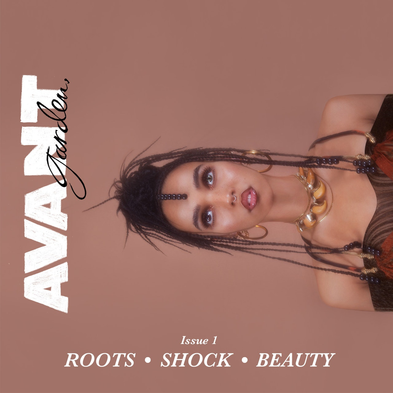 FKA twigs AVANTgarden issue 1
