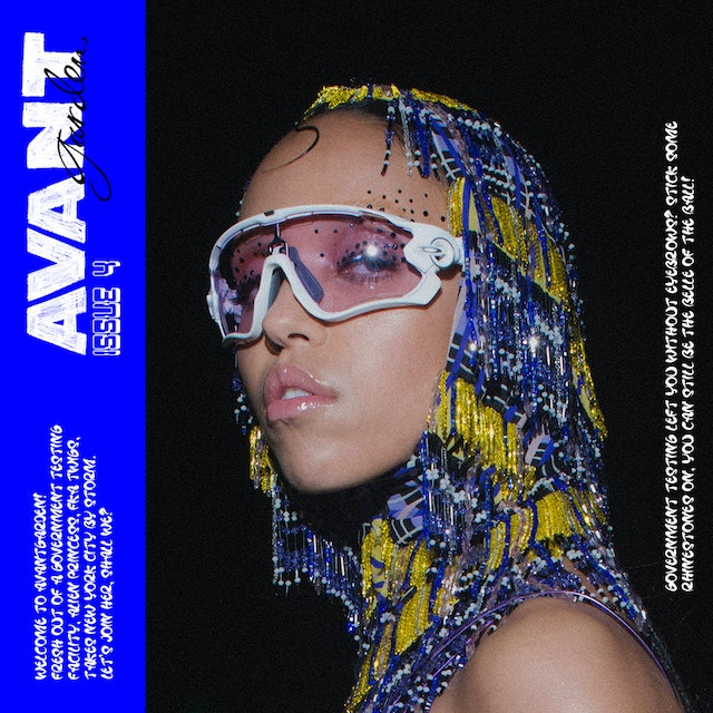 FKA twigs AVANTgarden issue 4