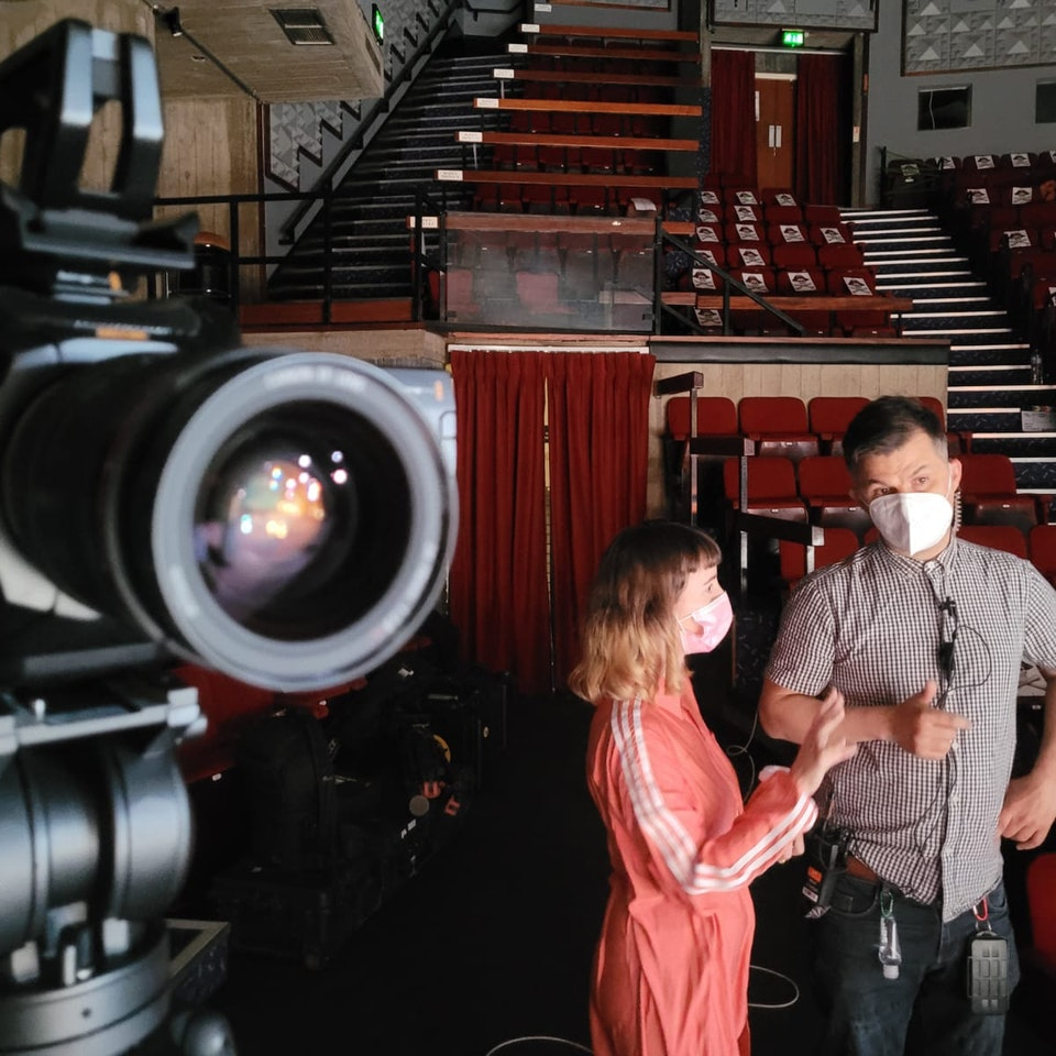 Big Egg Films - Video Production, Brighton. - DROWNTOWN: Bringing Something from Stage to Sofa with Rhiannon Faith