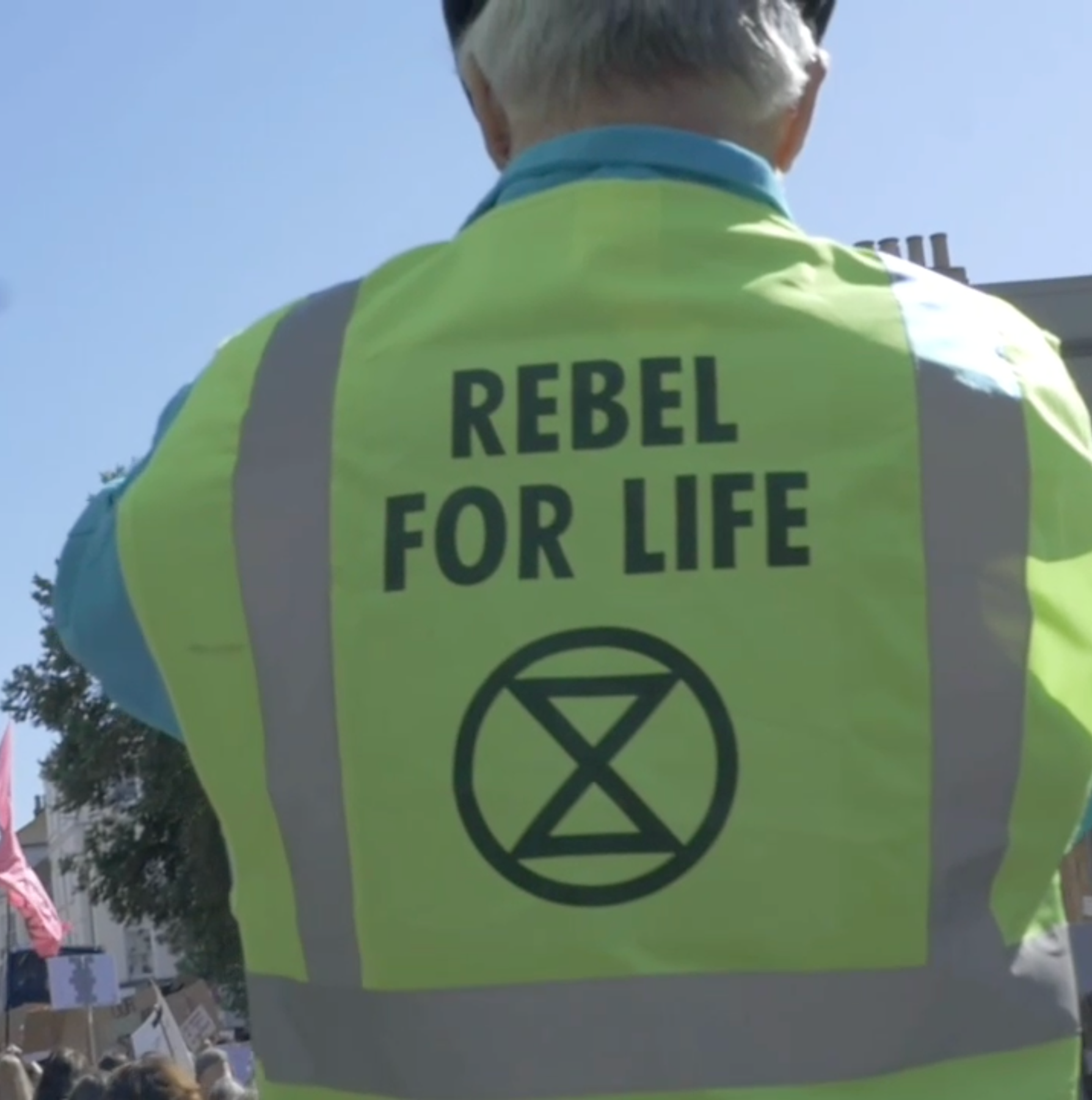 yellow high vis extinction rebellion video production company Brighton film ethical