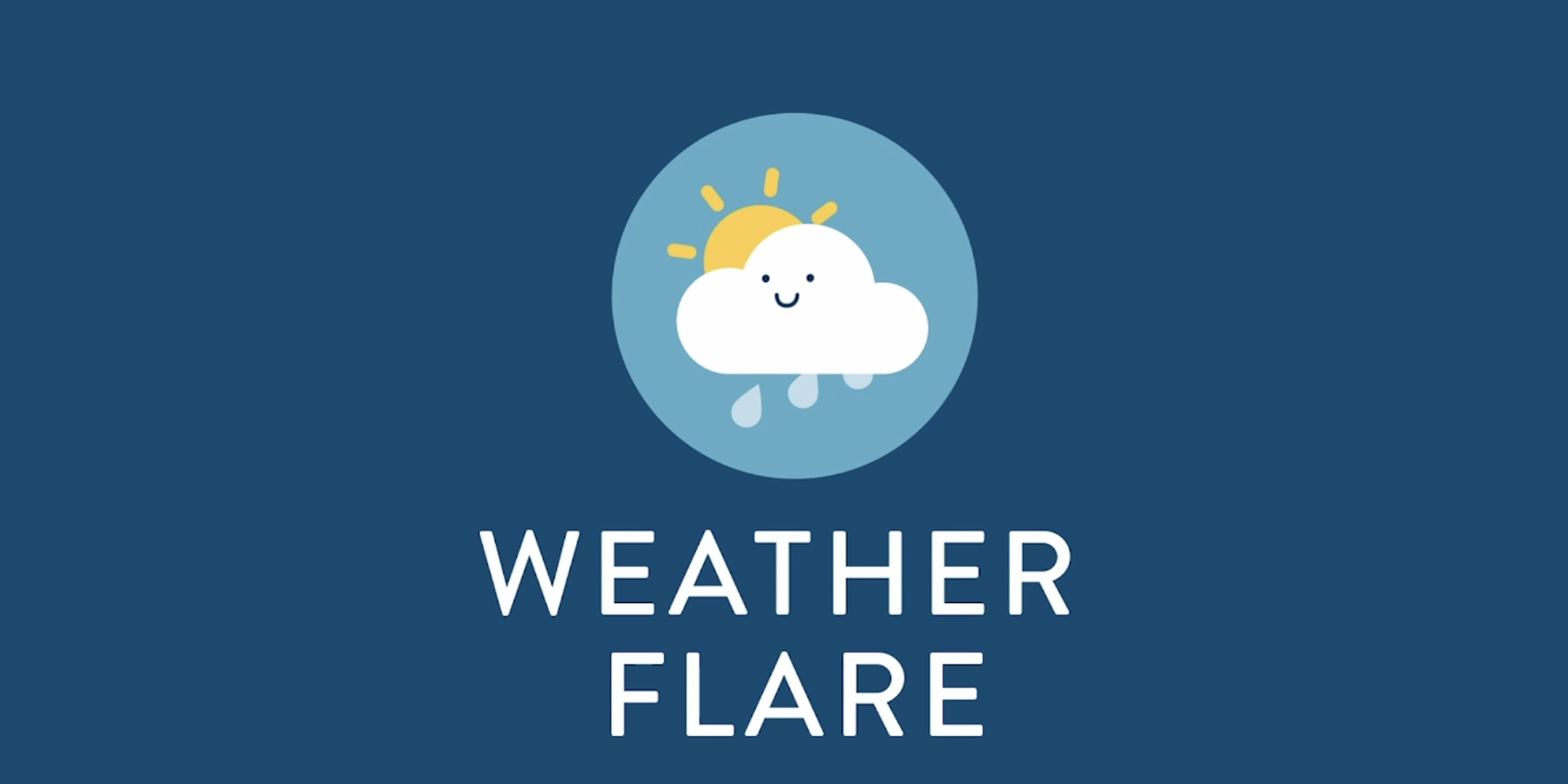 Crowdfunding video for WeatherFlare app