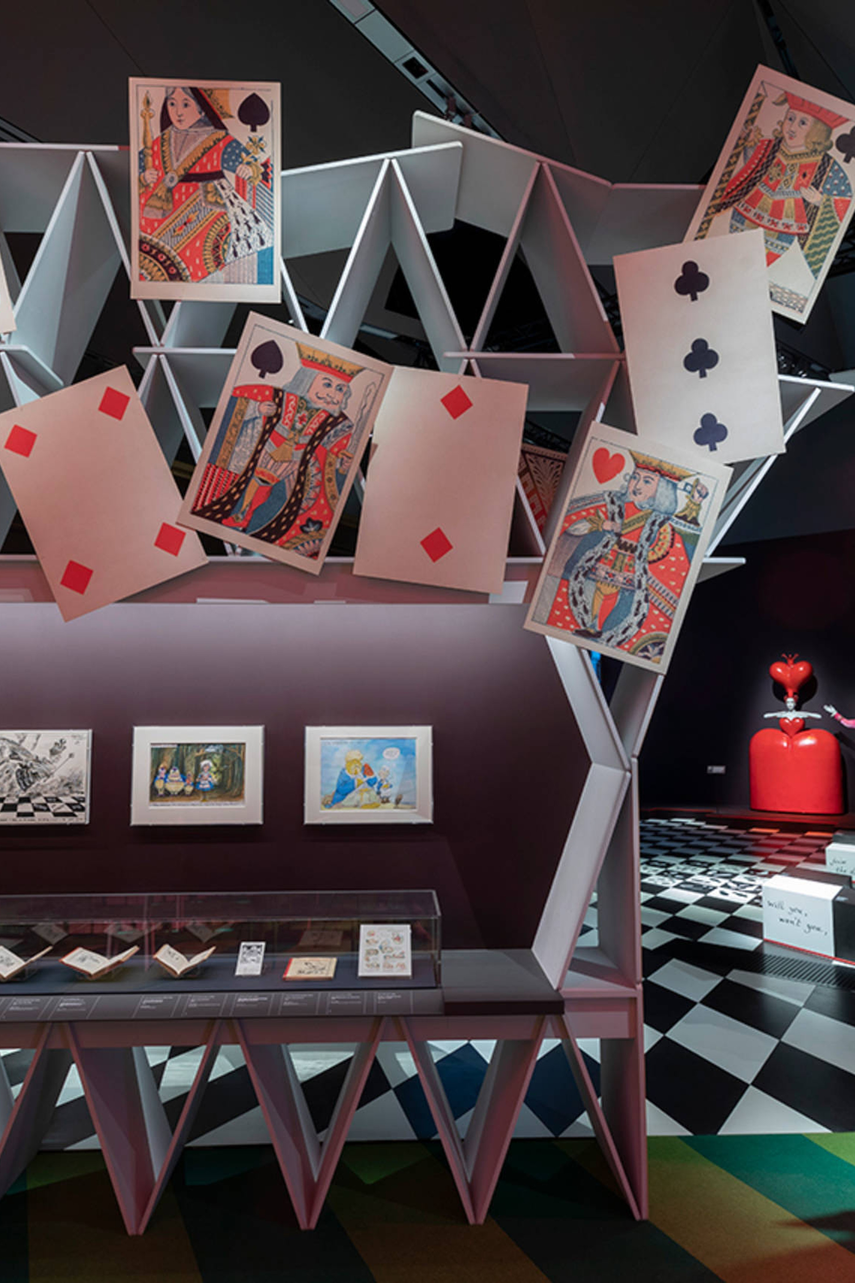 A Journey Through the Looking Glass: A Review of The V&A Exhibition 'Alice: Curiouser and Curiouser'