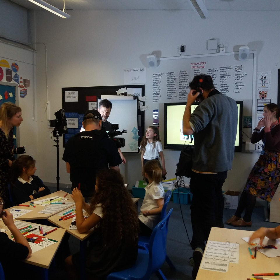 Big Egg Films - Video Production, Brighton. - Behind the scenes -BHT Christmas campaign 2018