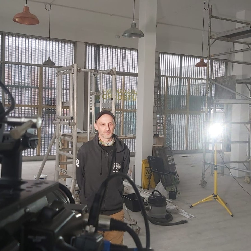 Big Egg Films - Video Production, Brighton. - Working with the Wood Store in Brighton