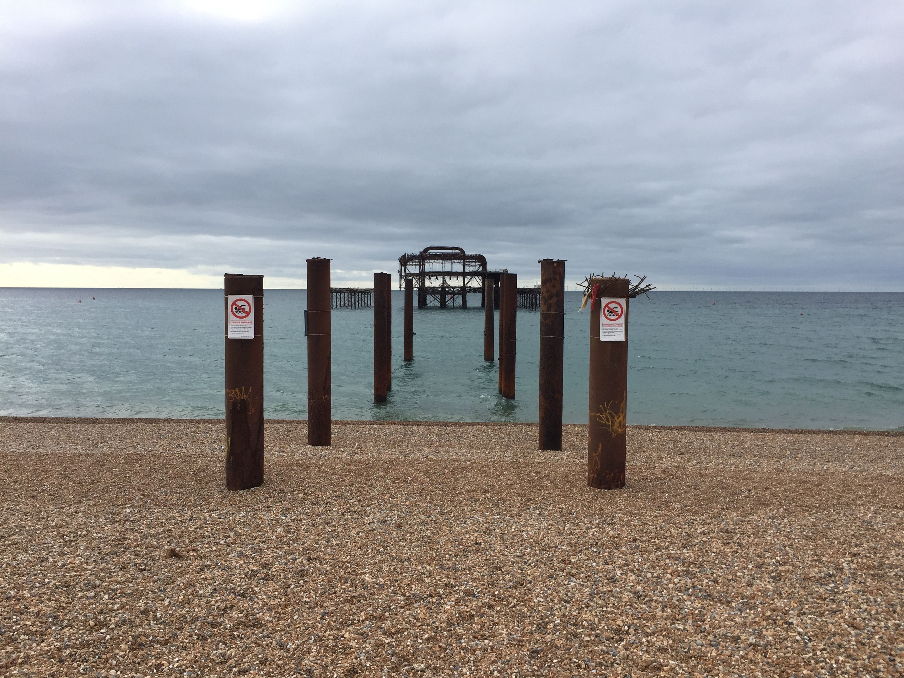 West pier - Picture taken by Laure