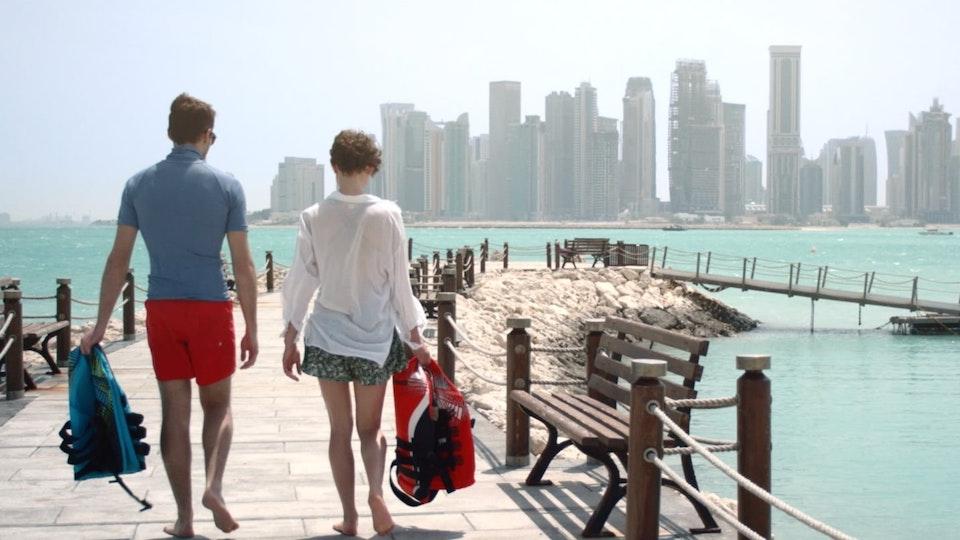 Qatar Tourism Film -Sea