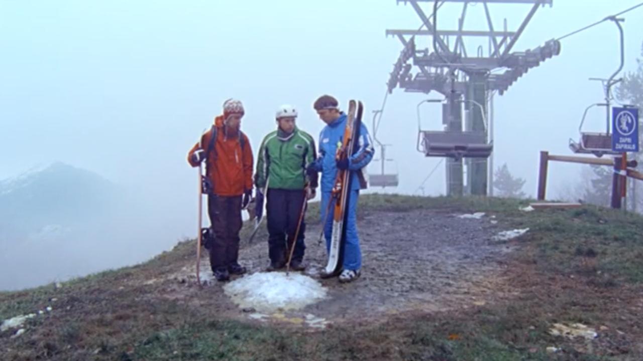 MCDONALDS - Meter sneeuw
