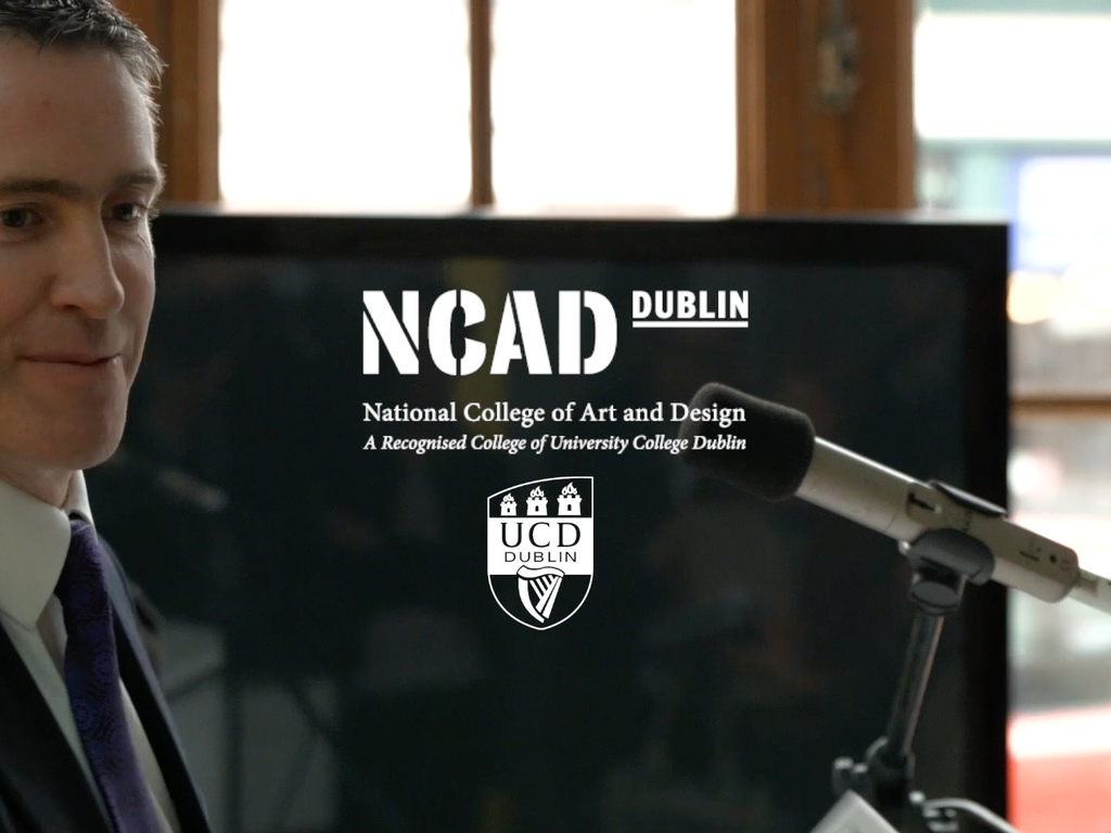 NCAD - INTERACTION DESIGN MASTERS LAUNCH