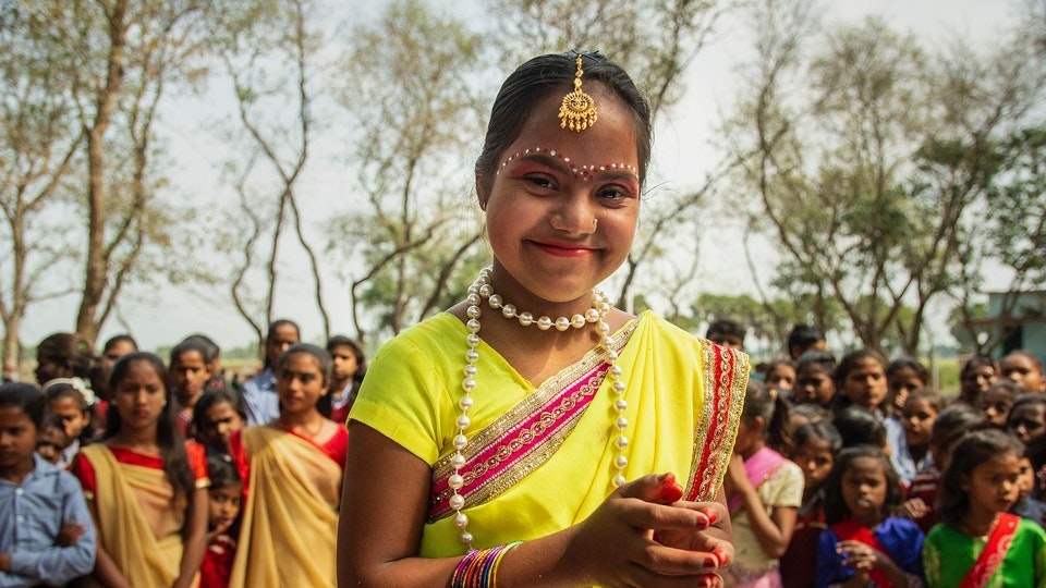 NEHA - Meet Neha!<br> We all need to practice focusing more on abilities, not disabilities.<br>She will challenge your perception imposed on people with Down Syndrome.