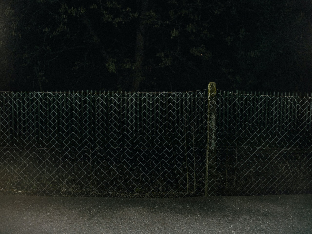Dark-fence