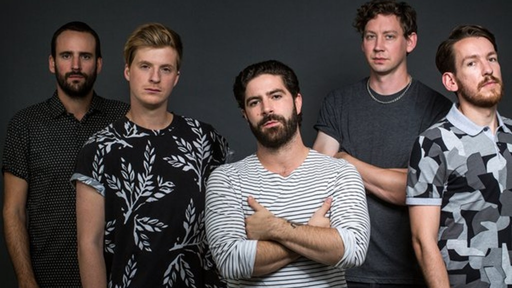 THE GUARDIAN GUIDE Cover - FOALS