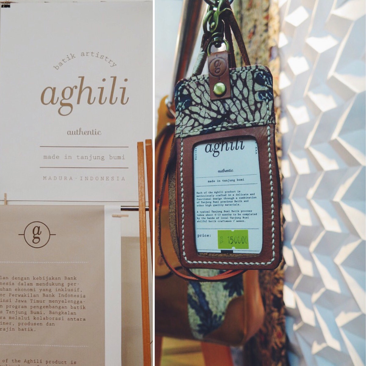 Aghili booth at Inacraft 2016