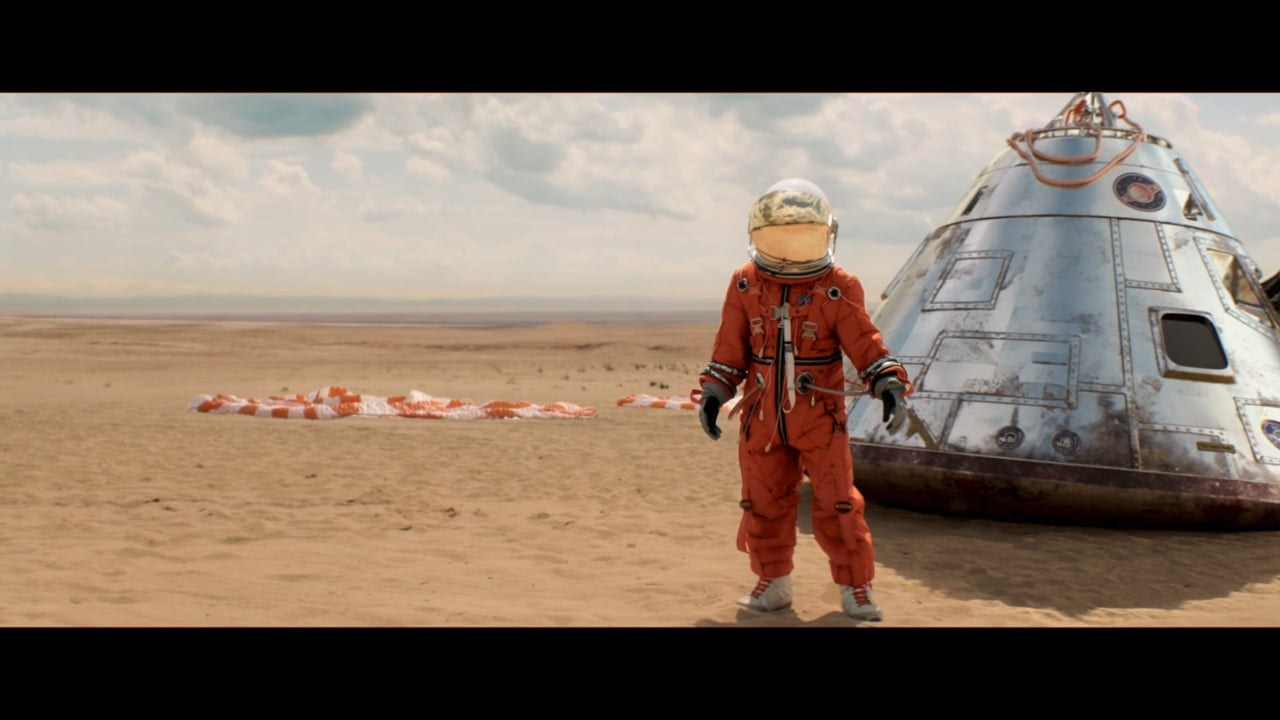 McDONALD'S Astronaut