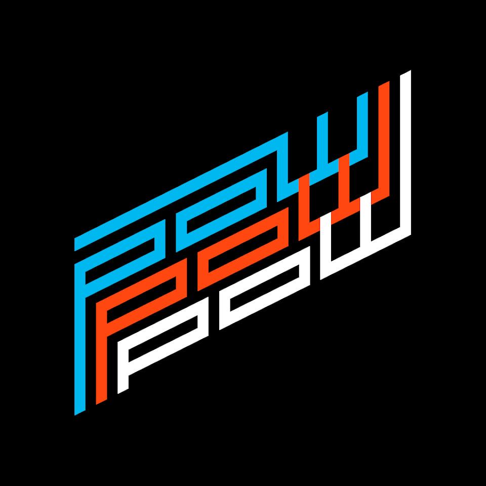 POW × 8bitSF pow_pow_pow_t-shirt_120_degrees