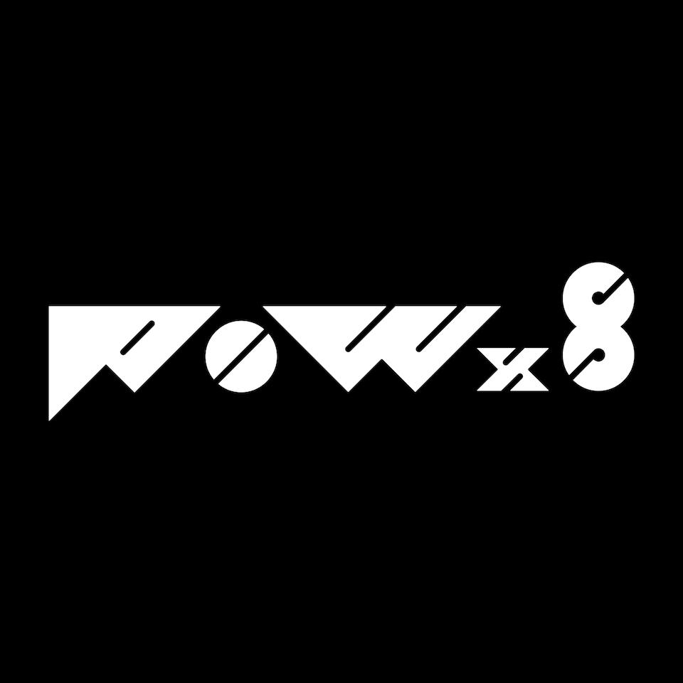 POW×8 logo