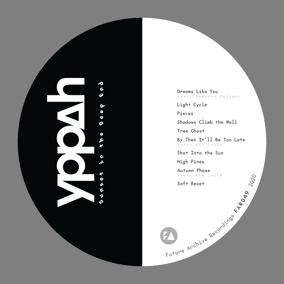 """Yppah """"Sunset in the Deep End"""" - cdlabel"""