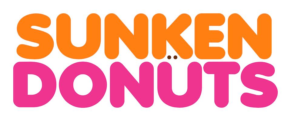 Logo Remixes Sunken Donuts