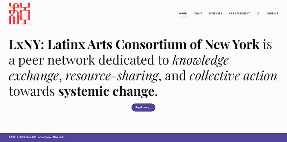LxNY: Latinx Arts Consortium of New York - lxny_11