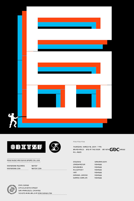 POW × 8bitSF 8bitsf_2014-03-18_web