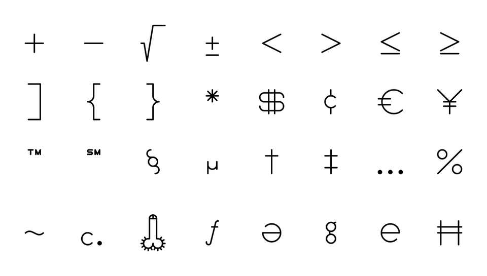 Type, Iconography and Design Language minimost_typeface_01