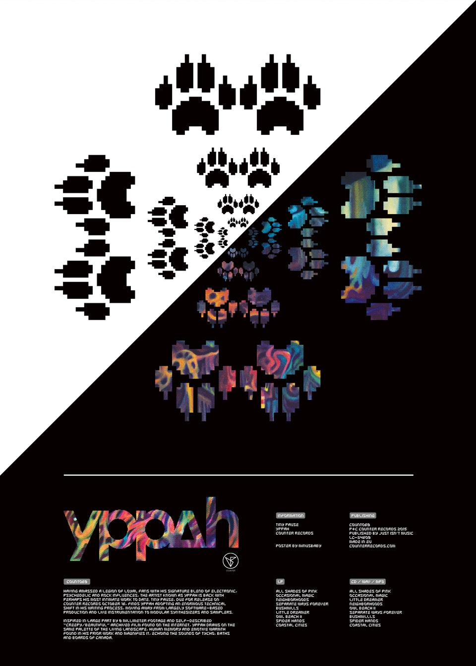 "Yppah ""Tiny Pause"" - yppah_x_minusbaby-tiny_pause-poster_02"