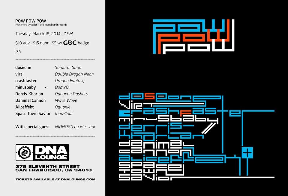 POW × 8bitSF 00-pow_pow_pow_postcard