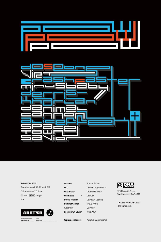 POW × 8bitSF - 00-pow_pow_pow_poster