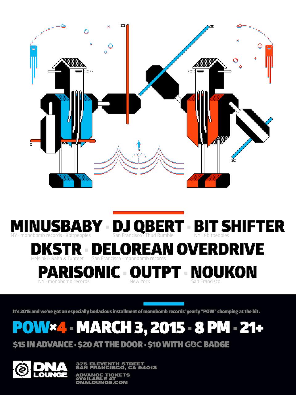 POW × 8bitSF - powx4_2015-03-03_poster