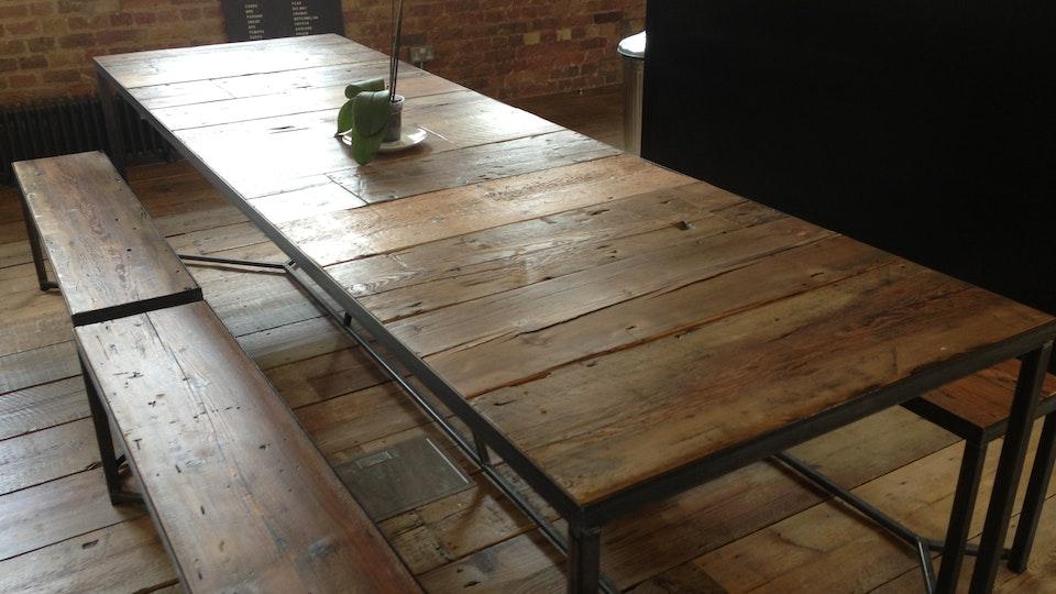 Wide Board Table