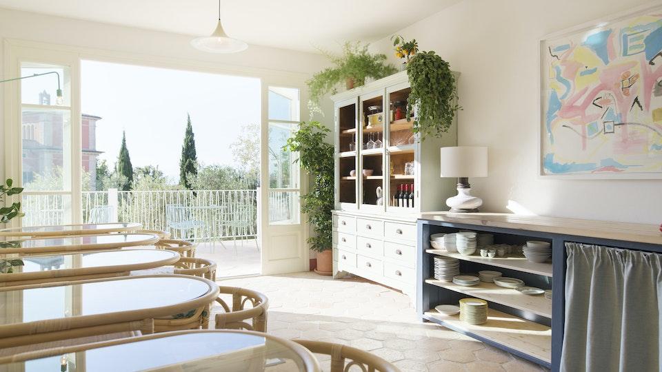 Villa Lena Breakfast Room