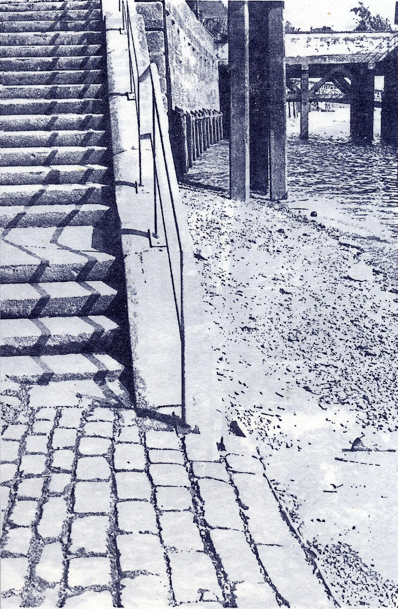 Tracey Bush - Custom House Stairs