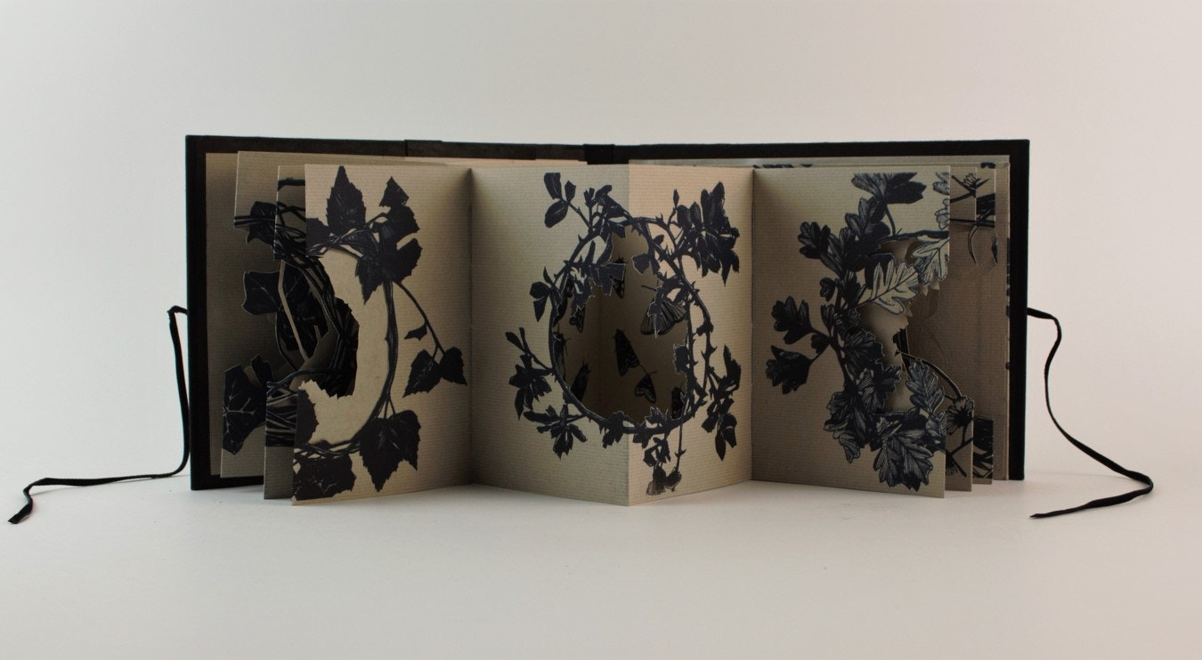 Tracey Bush - The British Library, Contemplating: Artists' Books Now