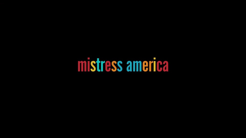 Mistress America (Assistant Editor) -