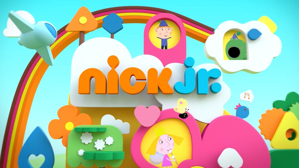 Nick Jr. Uk Rebrand 2014