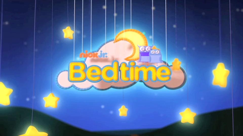 Nick Jr. Bedtime Branding