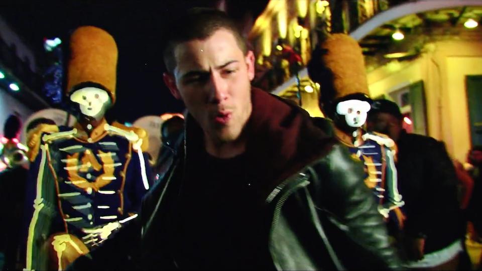 "Nick Jonas ""Voodoo"""