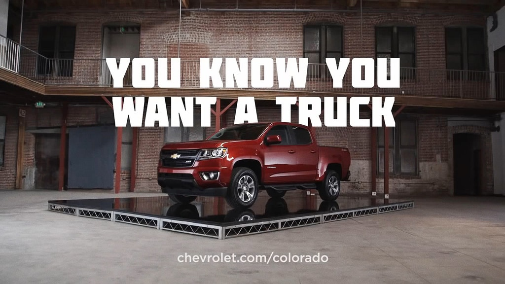 Chevy - You Know You Want A Truck