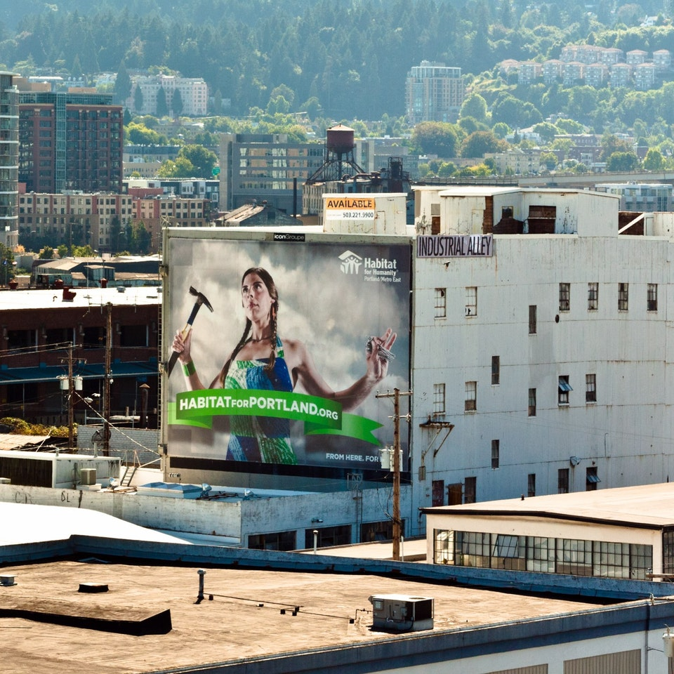 Studio Dooley - Habitat for Humanity: Portland Awareness Campaign