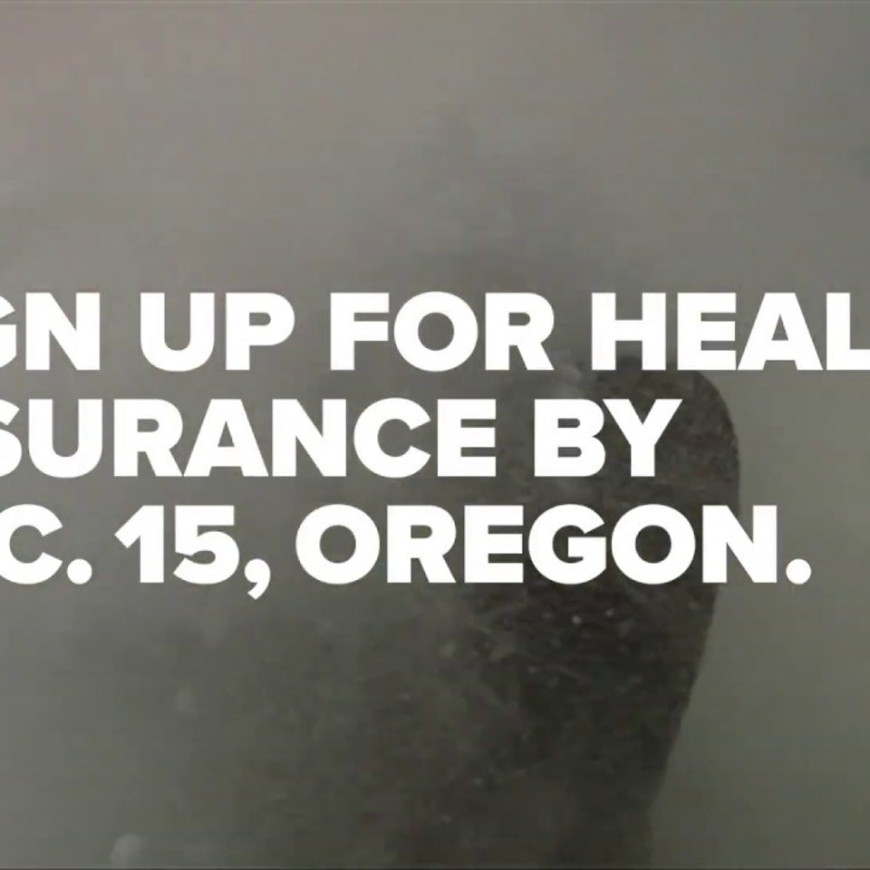 State of Oregon: Health Insurance Enrollment Campaign OHIM because trees