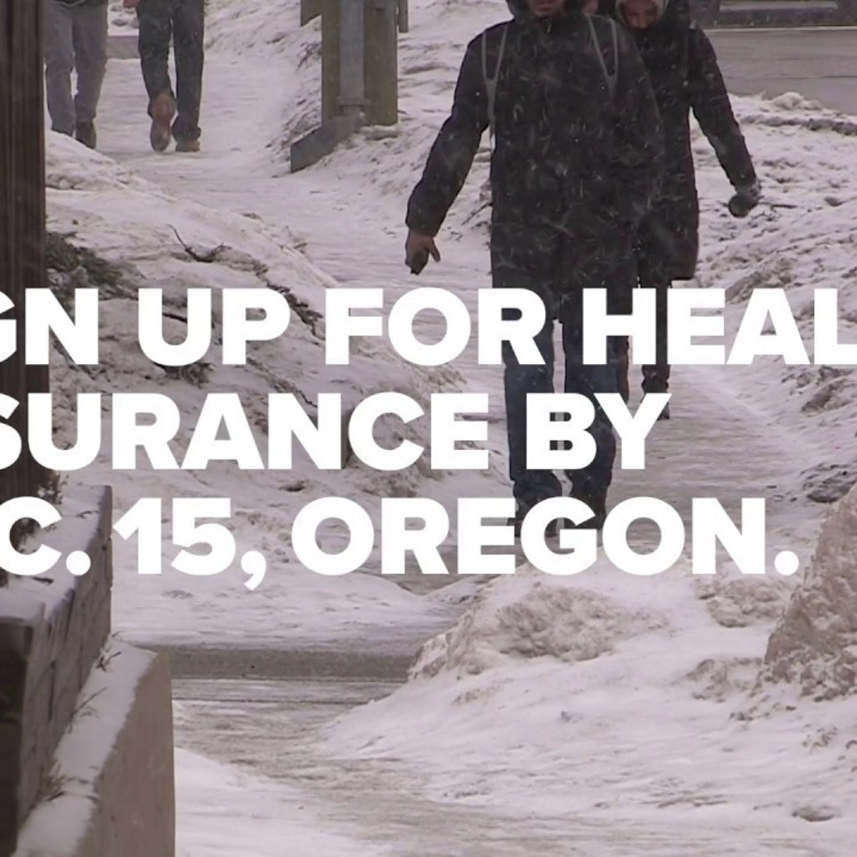 State of Oregon: Health Insurance Enrollment Campaign OHIM because ice